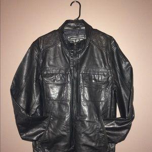 David Bitton Buffalo Faux Men's Leather Jacket XL